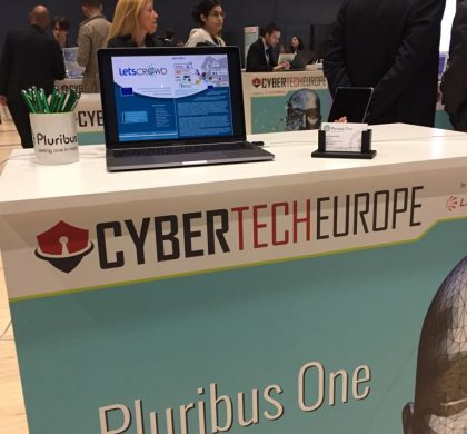 Pluribus One and LETSCROWD at Cybertech Europe 2017, Rome