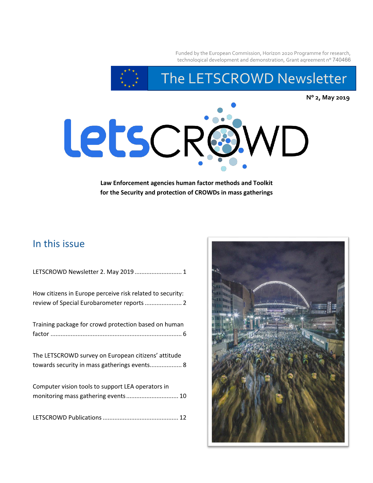 LETSCROWD Newsletter Issue 02, May 2019