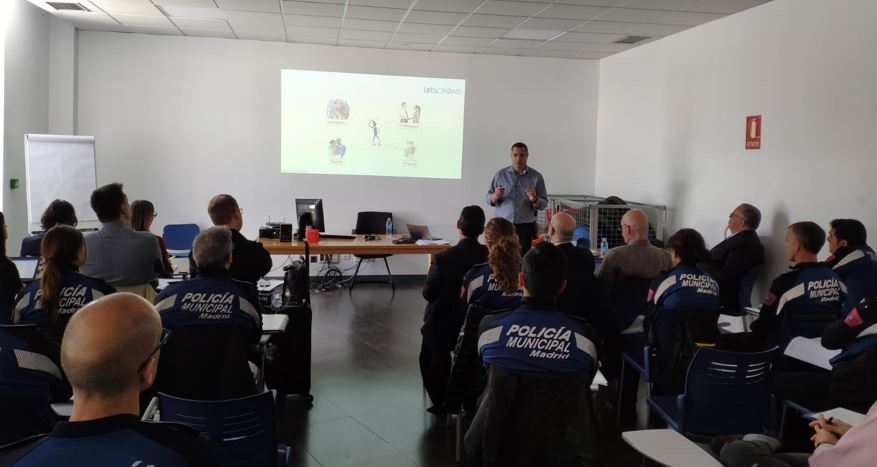 Training package for crowd protection based on human factor