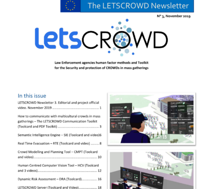 LETSCROWD Newsletter Issue 03, November 2019
